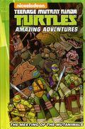 Teenage Mutant Ninja Turtles Amazing Adventures The Meeting of the Mutanimals HC (2016 IDW) 1-1ST