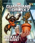Guardians of the Galaxy Rocket to the Rescue HC (2017 Random House) A Little Golden Book 1-1ST