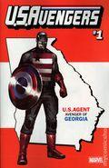 U.S. Avengers (2016 Marvel) 1GA