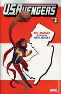 U.S. Avengers (2016 Marvel) 1NJ