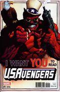 U.S. Avengers (2016 Marvel) 1B