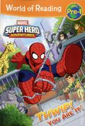World of Reading: Marvel Super Hero Adventure THWIP! You are It SC (2017 Marvel Press) Level Pre-1 1-1ST