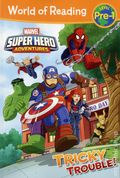 World of Reading: Marvel Super Hero Adventure Tricky Trouble SC (2017 Marvel Press) Level Pre-1 1-1ST