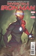 Invincible Iron Man (2016 3rd Series) 3A