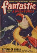 Fantastic Adventures (1939-1953 Ziff-Davis Publishing) Pulp Jan 1949