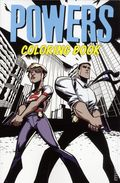 Powers Coloring Book SC (2017 Marvel/Icon) 1-1ST