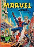 Marvel Annual HC (1967-1978 World Distributors) UK Edition 1974