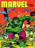 Marvel Annual HC (1967-1978 World Distributors) UK Edition 1976