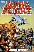 Alpha Flight Omnibus HC (2016 Marvel) By John Byrne 1-1ST