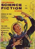 Science Fiction Stories (1955-1960 Columbia Publications) Pulp 3rd Series Vol. 9 #4