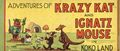 Adventures of Krazy Kat and Ignatz Mouse in Koko Land (1934 1306
