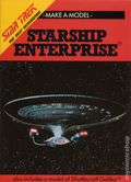 Make A Model Starship Enterprise SC (1990 Chatham River Press) Star Trek The Next Generation 1-1ST