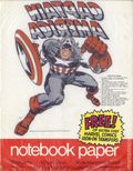 Notebook Paper with free Marvel Comics Iron-On Transfer (1975 Mead) ITEM#1