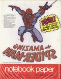 Notebook Paper with free Marvel Comics Iron-On Transfer (1975 Mead) ITEM#4A