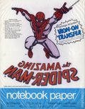 Notebook Paper with free Marvel Comics Iron-On Transfer (1975 Mead) ITEM#4B