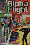 Alpha Flight (1983 1st Series) Canadian Price Variant 18