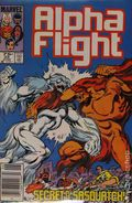 Alpha Flight (1983 1st Series) Canadian Price Variant 23