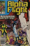Alpha Flight (1983 1st Series) Canadian Price Variant 26