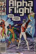 Alpha Flight (1983 1st Series) Canadian Price Variant 27