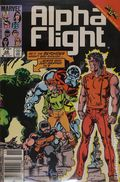 Alpha Flight (1983 1st Series) Canadian Price Variant 28