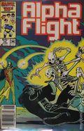 Alpha Flight (1983 1st Series) Canadian Price Variant 35