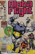 Alpha Flight (1983 1st Series) Canadian Price Variant 36