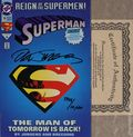 Superman (1987 2nd Series) 78DFSIGNED