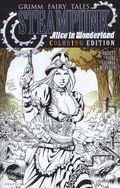 Steampunk Alice in Wonderland Coloring Book Edition (2017) 1