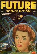 Future Science Fiction (1952-1960) Pulp/Digest Vol. 3 #2