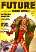 Future Combined with Science Fiction (1950-1951 Columbia Publications) Pulp 2nd Series Vol. 1 #4