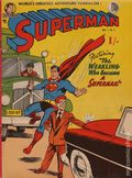 Superman (1954 Zebra Publishing) South African 1