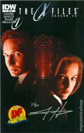 X-Files Season 10 (2013 IDW) 1DFSIGNED