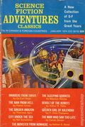 Science Fiction Adventure Classics (1969 Digest) Jan 1974