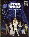 Star Wars A New Hope HC (2017 Random House) A Big Golden Book 1-1ST