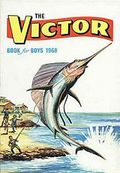 Victor Book for Boys Annual HC (1963-2011 D.C. Thompson & Co.) UK Edition #1968