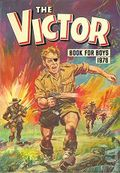 Victor Book for Boys Annual HC (1963-2011 D.C. Thompson & Co.) UK Edition #1976