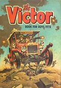 Victor Book for Boys Annual HC (1963-2011 D.C. Thompson & Co.) UK Edition #1978