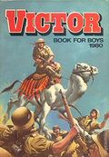 Victor Book for Boys Annual HC (1963-2011 D.C. Thompson & Co.) UK Edition #1980