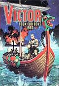 Victor Book for Boys Annual HC (1963-2011 D.C. Thompson & Co.) UK Edition #1983