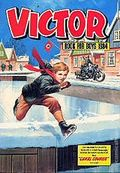 Victor Book for Boys Annual HC (1963-2011 D.C. Thompson & Co.) UK Edition #1984