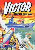 Victor Book for Boys Annual HC (1963-2011 D.C. Thompson & Co.) UK Edition #1986