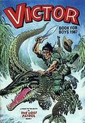 Victor Book for Boys Annual HC (1963-2011 D.C. Thompson & Co.) UK Edition #1987