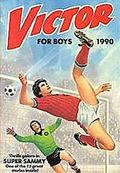 Victor Book for Boys Annual HC (1963-2011 D.C. Thompson & Co.) UK Edition #1990