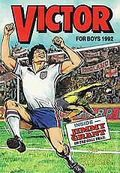 Victor Book for Boys Annual HC (1963-2011 D.C. Thompson & Co.) UK Edition #1992