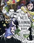 Neil Gaiman Coloring Book SC (2017 HarperCollins) 1-1ST