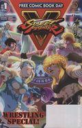Street Fighter V Wrestling Special (2017 Udon) FCBD 1