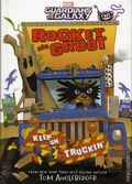 Rocket and Groot Keep on Truckin' HC (2017 Marvel Press) A Guardians of the Galaxy Young Novel 2-1ST
