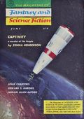 Fantasy and Science Fiction (1949-Present Mercury Publications) Pulp Vol. 14 #6