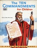 Ten Commandments for Children HC (1956 A Rand McNally Book) 1-1ST