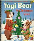Hanna-Barbera's Yogi Bear A Christmas Visit HC (1961 Golden Press) A Little Golden Book 433